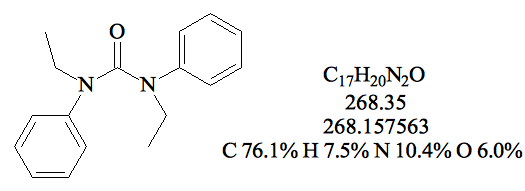 ethyl-centralite(etc)